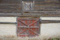 Barn 3. Side of an old barn Stock Photo