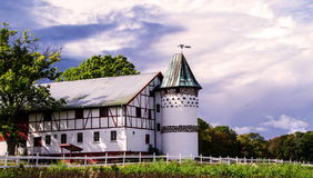 The barn on alby Royalty Free Stock Photography