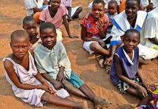 Barn & armod, Zimbabwe Royaltyfri Fotografi