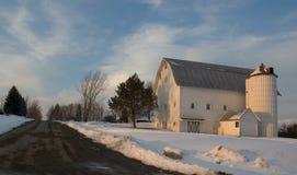 Free Barn At Sunset Stock Image - 1177251