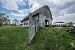 Free Barn At The Biltmore Estates Stock Photo - 106011660