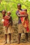 Barn av Afrika, Madagascar Arkivbild