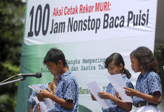 BARN AV INDONESIEN BEFOLKNING Fotografering för Bildbyråer