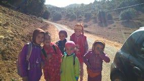 Barn av montagnes fotografering för bildbyråer