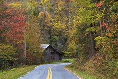 Free Barn Beside The Road Royalty Free Stock Photo - 47856825