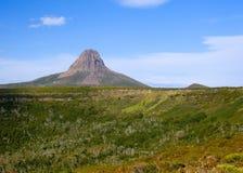 Barn Bluff. Near Cradle Mountain in Tasmania, Australia royalty free stock image