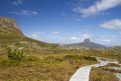 Barn Bluff, Cradle Mountain, Tasmania. Following the Overland Track that runs from Cradle Mountain to Lake St Clair Tasmania Royalty Free Stock Photos