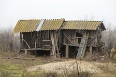 Barn broken Royalty Free Stock Photos