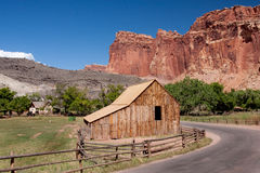 Barn at Capitol Reef National Park Stock Photos
