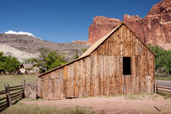 Barn at Capitol Reef National Park royalty free stock photos