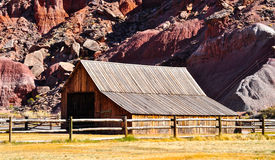 Barn at Capitol Reef National Park, Utah Royalty Free Stock Image
