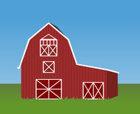 Barn cartoon Royalty Free Stock Photo