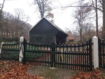 Dutch castle Slangenburg barn royalty free stock images
