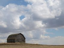 Barn cloudscape. Stock Photo