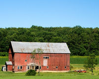 Barn in the Country Royalty Free Stock Photos