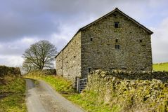 Barn in countryside Stock Photos