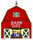 Barn dance Stock Image
