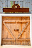 Barn door. On the farm Royalty Free Stock Photos
