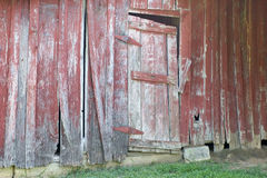 Barn door. Old barn  of which are many in this area Royalty Free Stock Images