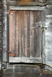 Barn Door. Rustic Barn Door with Latch Royalty Free Stock Photos