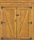 Barn door background Stock Photo