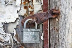 Barn door closeup Royalty Free Stock Image