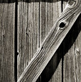 Barn Door - High Contrast Royalty Free Stock Photos