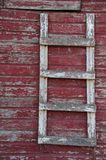 Barn door ladder royalty free stock photos