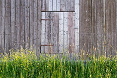 Barn Door in Sweden Royalty Free Stock Photos