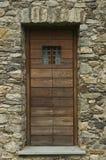 Barn door of wood Royalty Free Stock Images