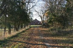 Farm Lane royalty free stock photo