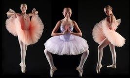 barn för 1 ballerina Arkivfoto