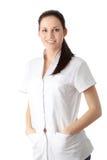 barn för doktorskvinnligsjuksköterska royaltyfri foto