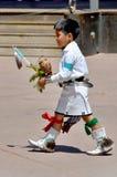 Barn för Navajoindier Arkivfoton