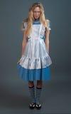 barn för saga för felik flicka för klänning nätt Arkivfoto