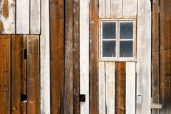 Barn Facade Stock Photo