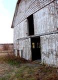 Old, Abandoned Barn Before Sunset royalty free stock image