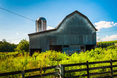Barn on a farm in the Shenandoah Valley, Virginia. Stock Images