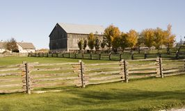 Barn and Fence Stock Photos