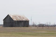 Barn in Field Stock Image