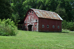 Barn In Georgia Stock Photos