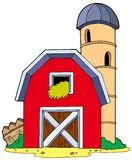Barn with granary Stock Photography