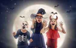 barn halloween arkivbilder