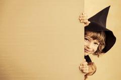 barn halloween arkivfoto