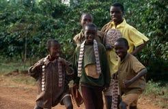 Barn i Burundi royaltyfri foto