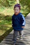 Barn i löst Royaltyfria Bilder