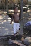 Barn i Madagascar Arkivbild