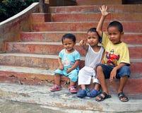 Barn i Malaysia royaltyfria bilder