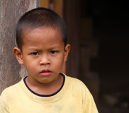 Barn i Malaysia Arkivfoto