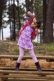 Barn i park arkivbilder